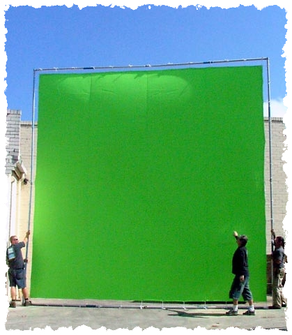 12 Land For Green Screen PSD Images