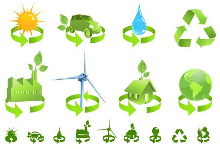 Green Vector Icon Free