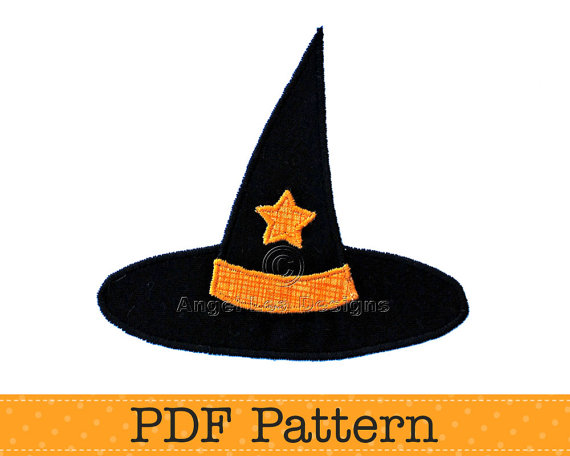 Halloween Witch Hat Template