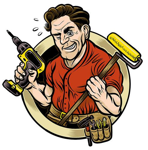 16 Handyman Vector Graphics Images