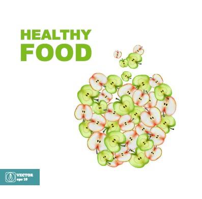 Healthy Food Vector Free