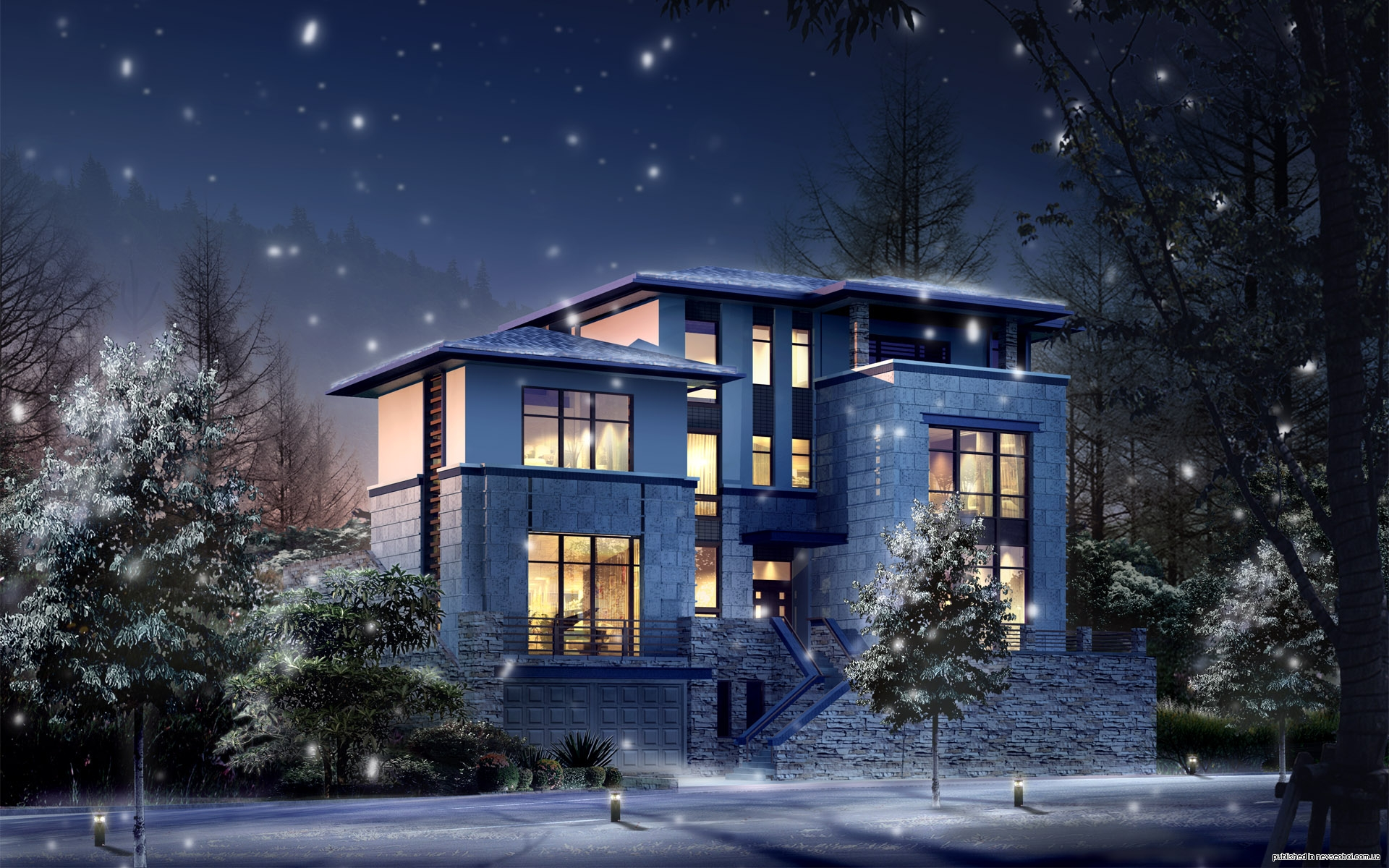 House Architecture Desktop Backgrounds