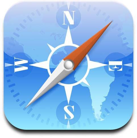 iPhone Safari App Icon