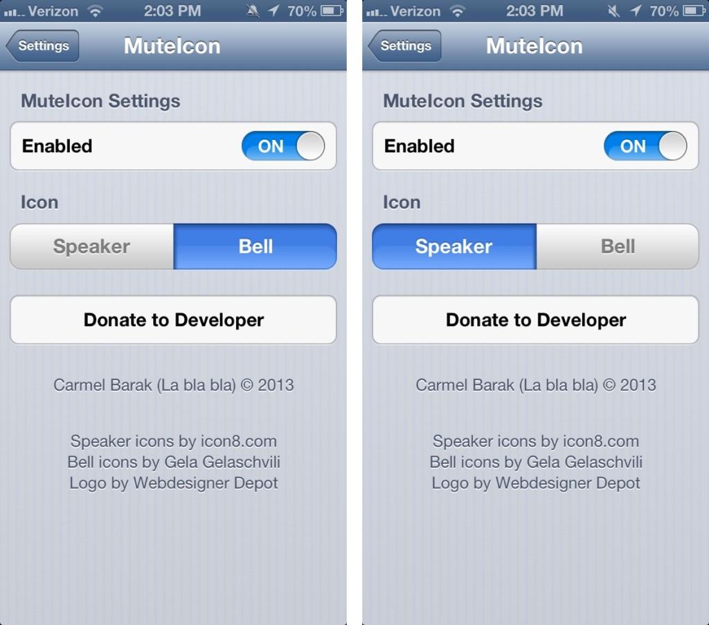 iPhone Status Bar Icons