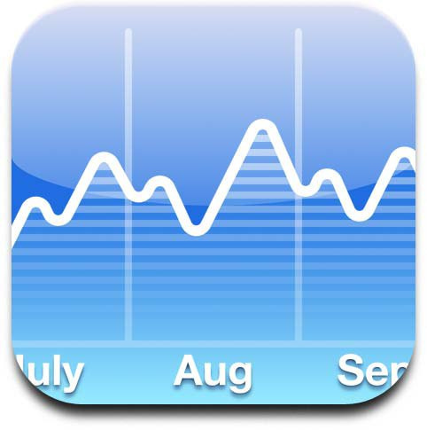 iPhone Stocks App Icons