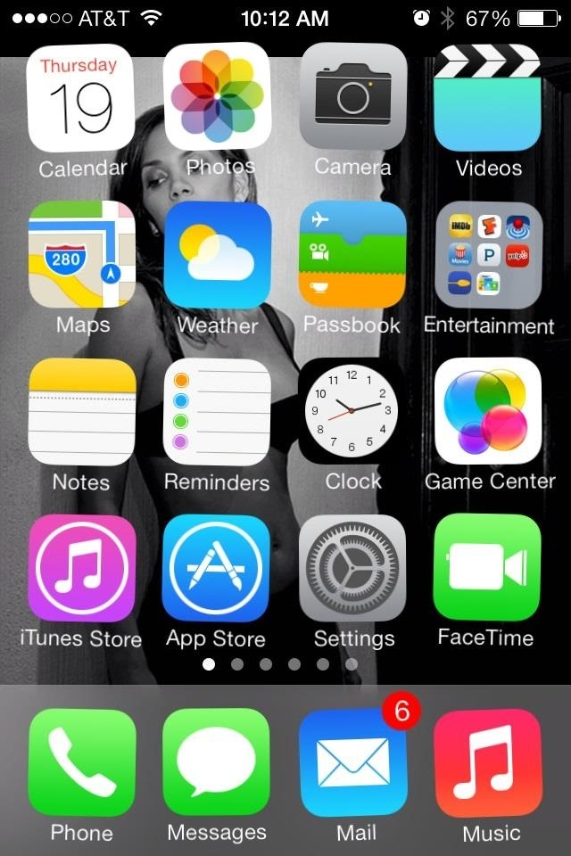 iPod Touch Apps Icons