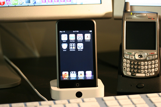 iPod Touch Screen Icons