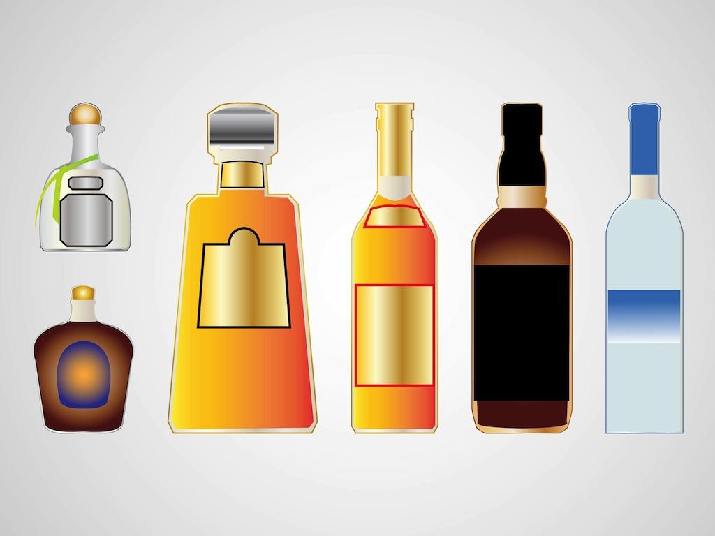 Liquor Bottle Clip Art