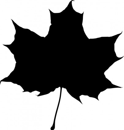 8 Maple Leaf Silhouette Vector Images