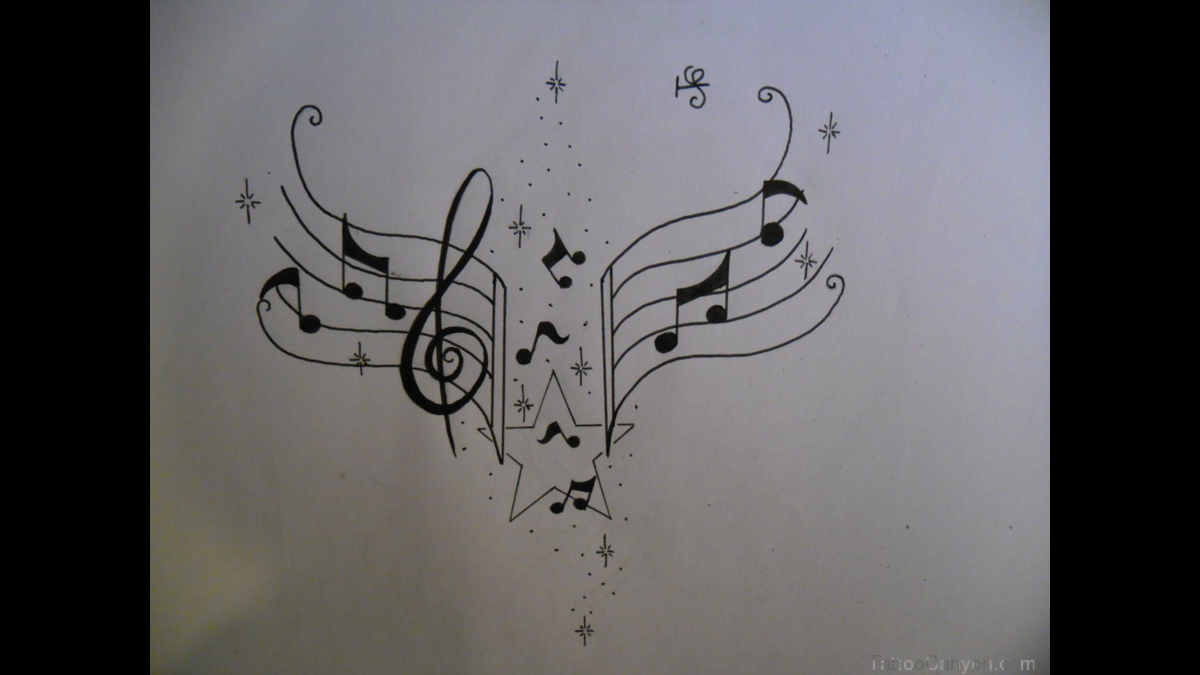 14 simple music note designs images music note tattoo on