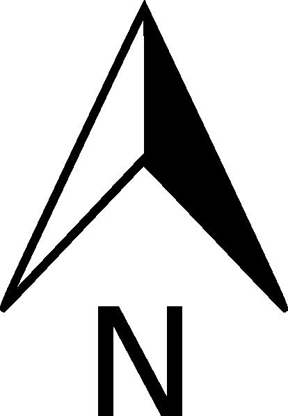 7 North Arrow Vector Images