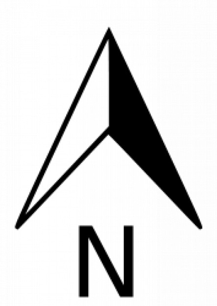 North Arrow Vector