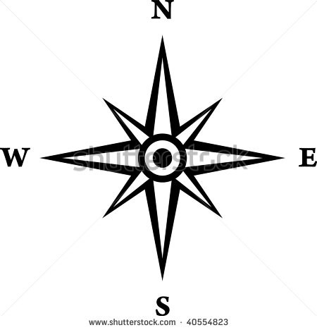 North Compass Arrow