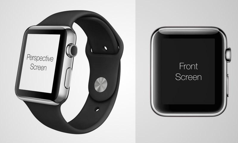 PSD Apple Watch