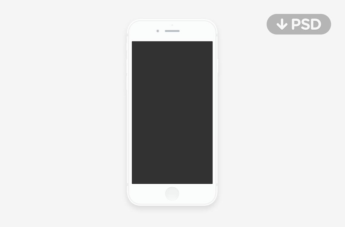 7 PSD IPhone 6 OS Images