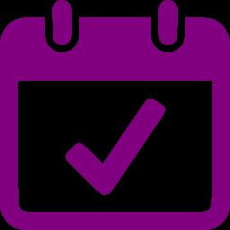 14 Purple Calendar Icon Png Images Black Calendar Icon Purple Calendar Icon And Blue Calendar Icon Newdesignfile Com