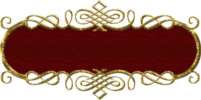 Red and Gold Transparent Frames