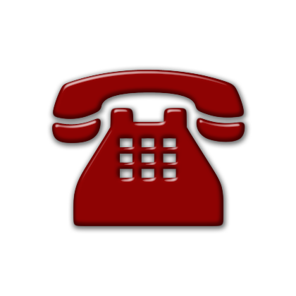 9 Black And Red Phone Icon Images