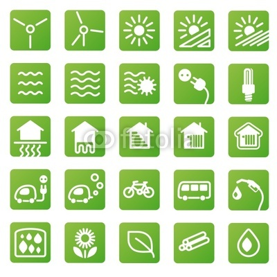 13 Green Energy Icons Vector Free Images