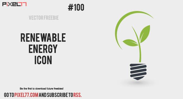 Renewable Energy Icons Free