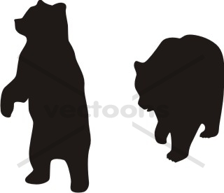 17 Vector Bear Standing Up Images