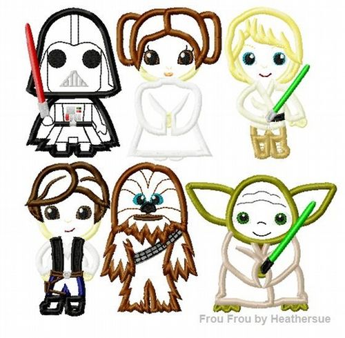 Star Wars Machine Embroidery Designs Ausbeta