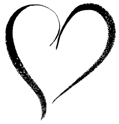 Swirl Heart Design