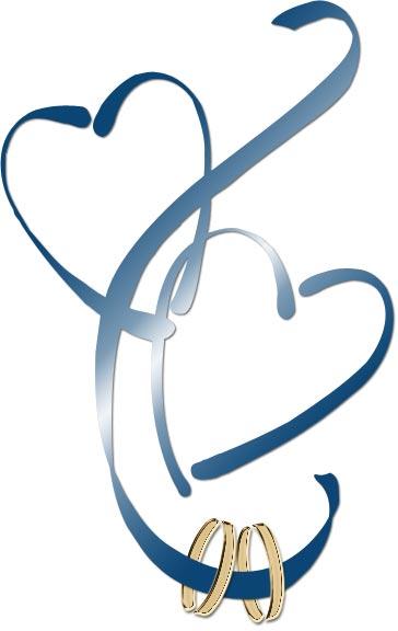 Two Hearts Design Clip Art
