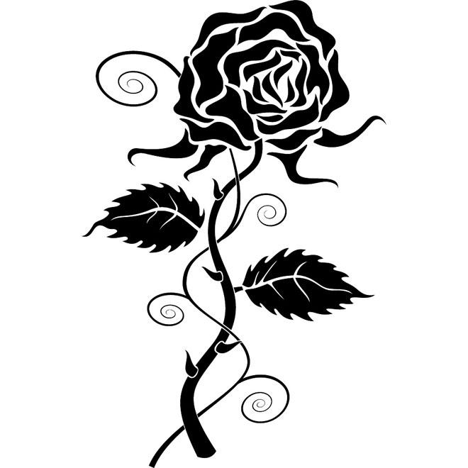 Vector Rose Clip Art