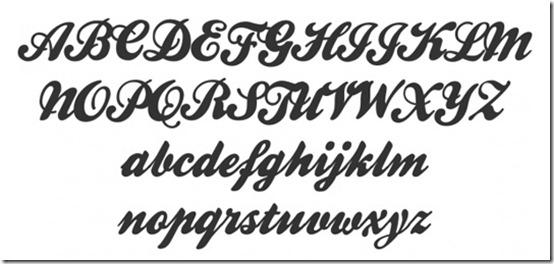 Vintage Retro Cursive Font