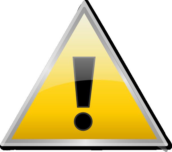 Warning Icon Clip Art