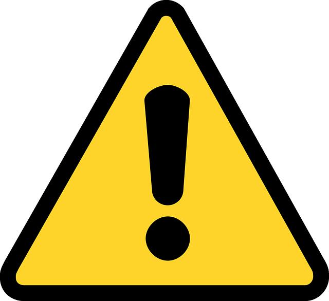 Warning Triangle Clip Art