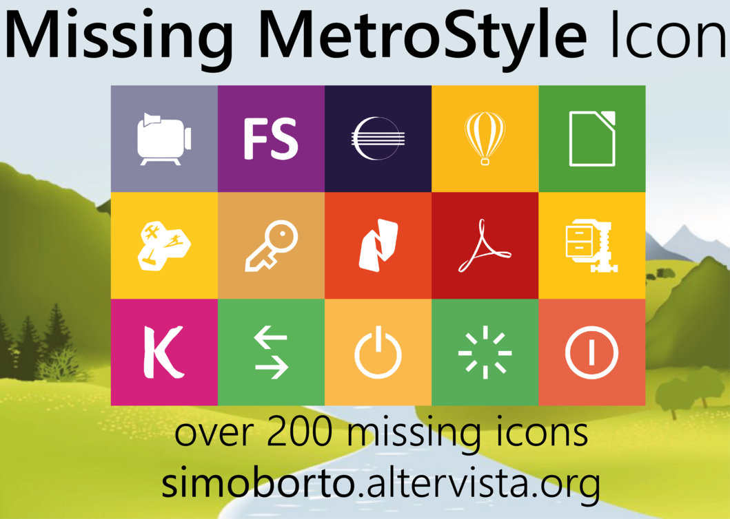 12 Metro Style Icons Finance F Images