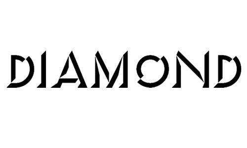 3D Diamond Fonts Free