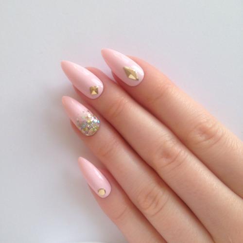 Acrylic Stiletto Nails Tumblr