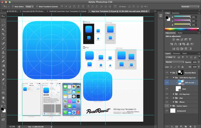 14 Templates For Photoshop Icon Images Adobe Photoshop Cs6 Logo