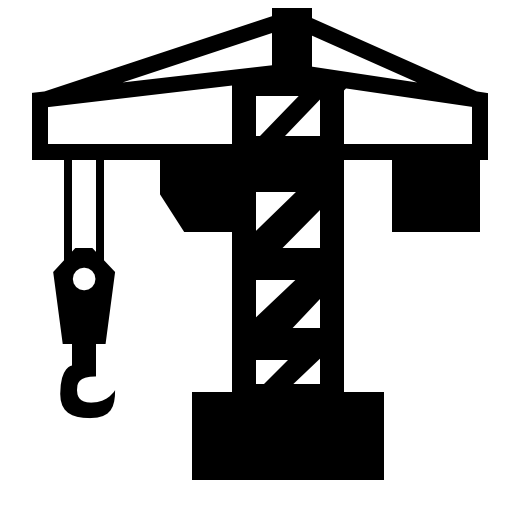 Construction crane icon png for Architecture icon