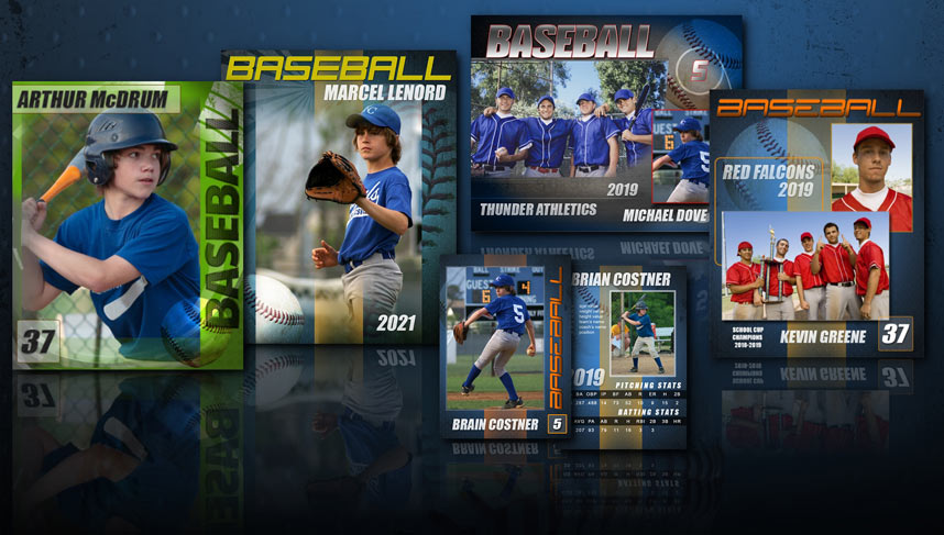 Baseball Templates Photoshop