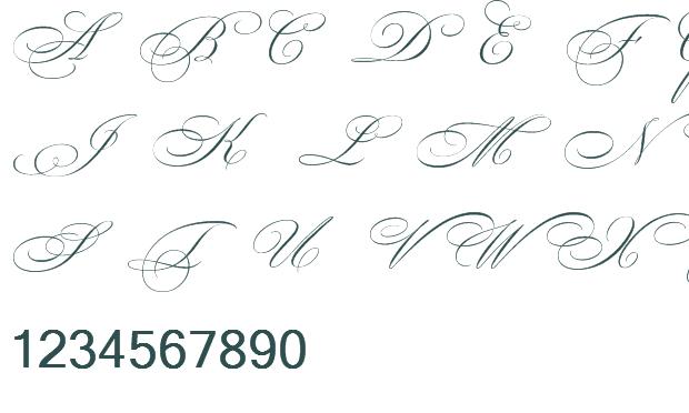 12 Beautiful Handwriting Fonts Images - Beautiful Script ...