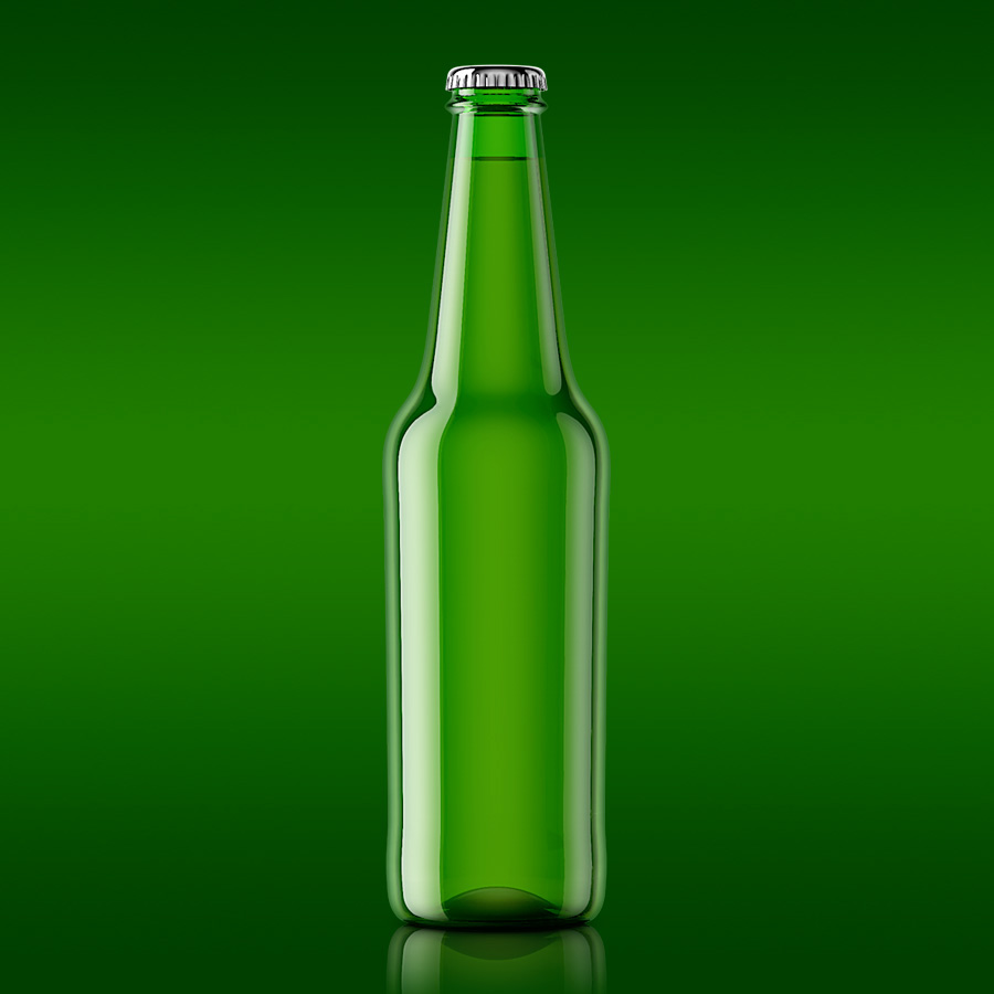 Beer Bottle Template Free