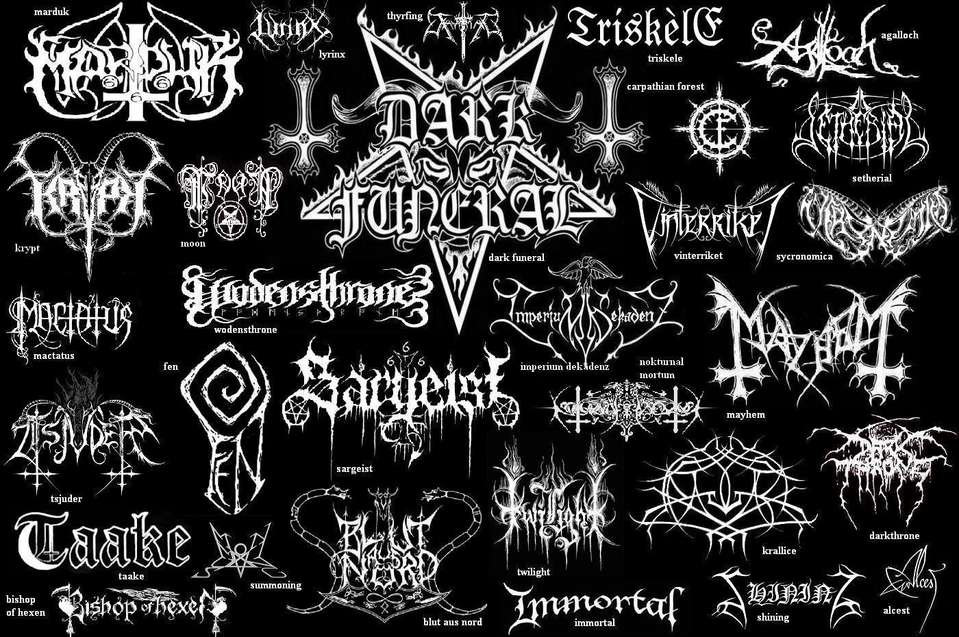 black metal band names