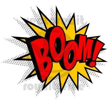 Boom Explosion Comic Book