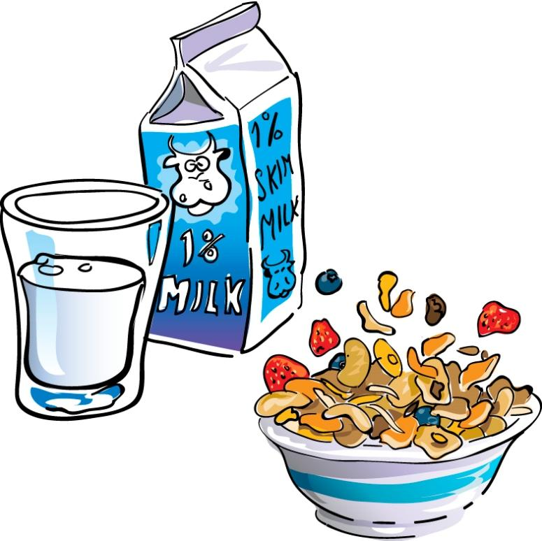 Breakfast Cereal Clip Art