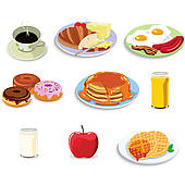 Breakfast Food Clip Art Free