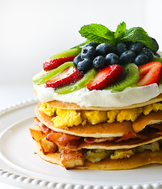 Breakfast Food Pancakes