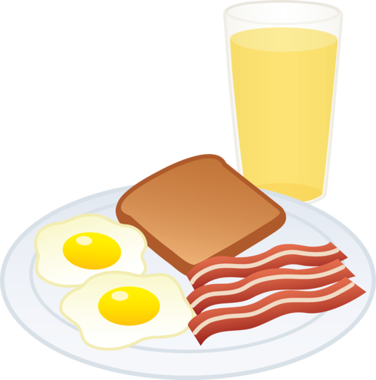 Cartoon Breakfast Food Clip Art