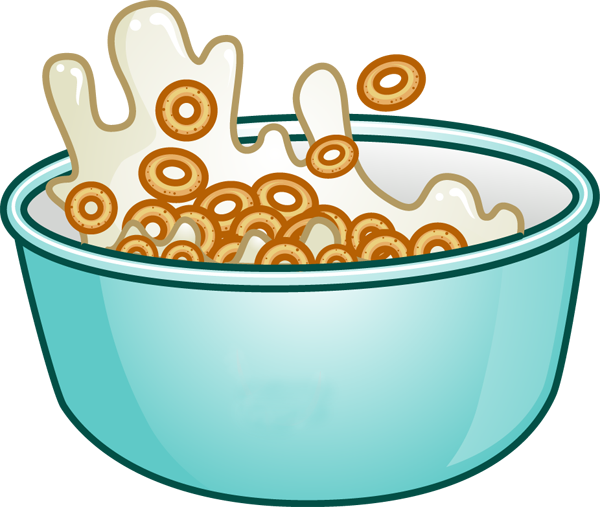 Cereal Bowl Clip Art Free