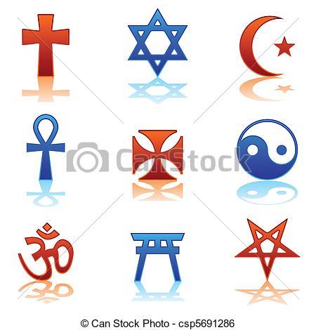 Christian Religious Symbols Clip Art