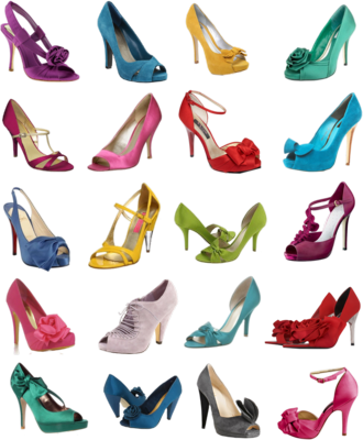 Colorful Wedding Shoes Bridal