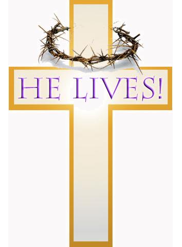 Easter Sunday Religious Clip Art